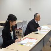 京都ジョブパークの南本さん、饗庭さんにご対応いただき、訪問インタビューを行いました
