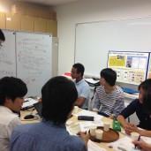 学生のミーティング風景